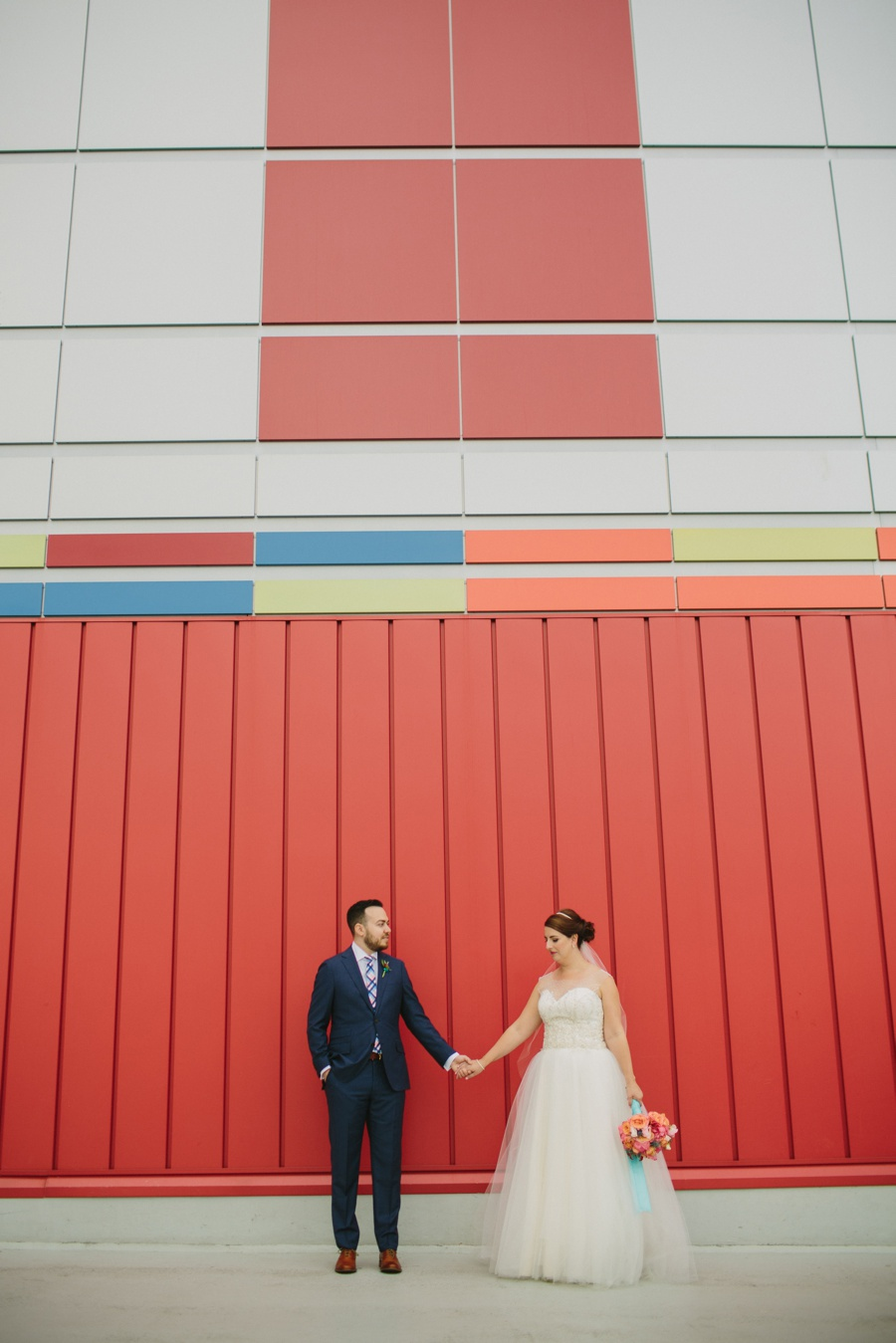Wedding Portraits at Science World