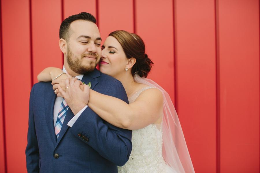 Wedding Portraits at Science World