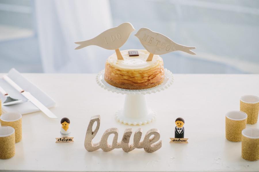 Science World Wedding Cake