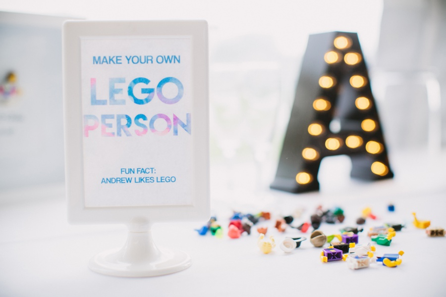 Lego Minifigure Wedding Favour