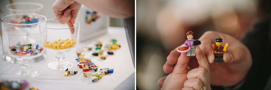 Lego Minifigure Wedding Favour