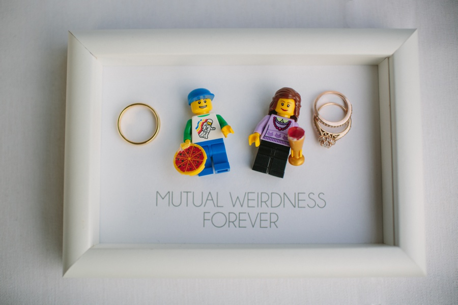Lego Wedding Detail