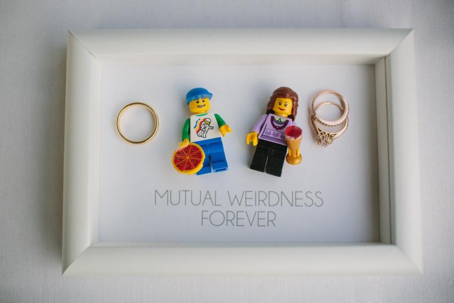 Lego Wedding Detail