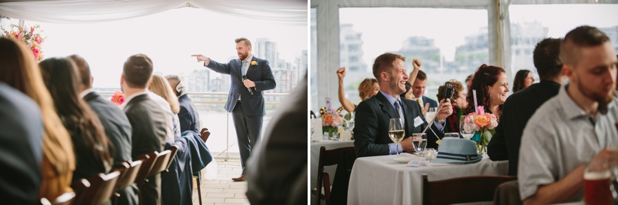 Vancouver Speeches at Reception