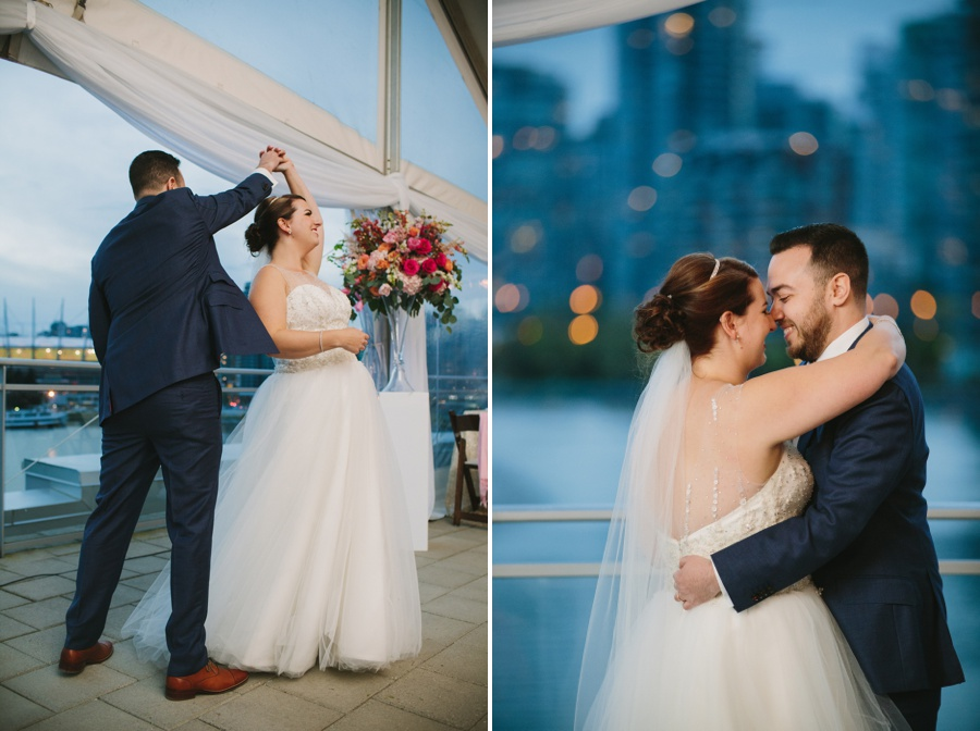 First Dance at Science World Vancouver