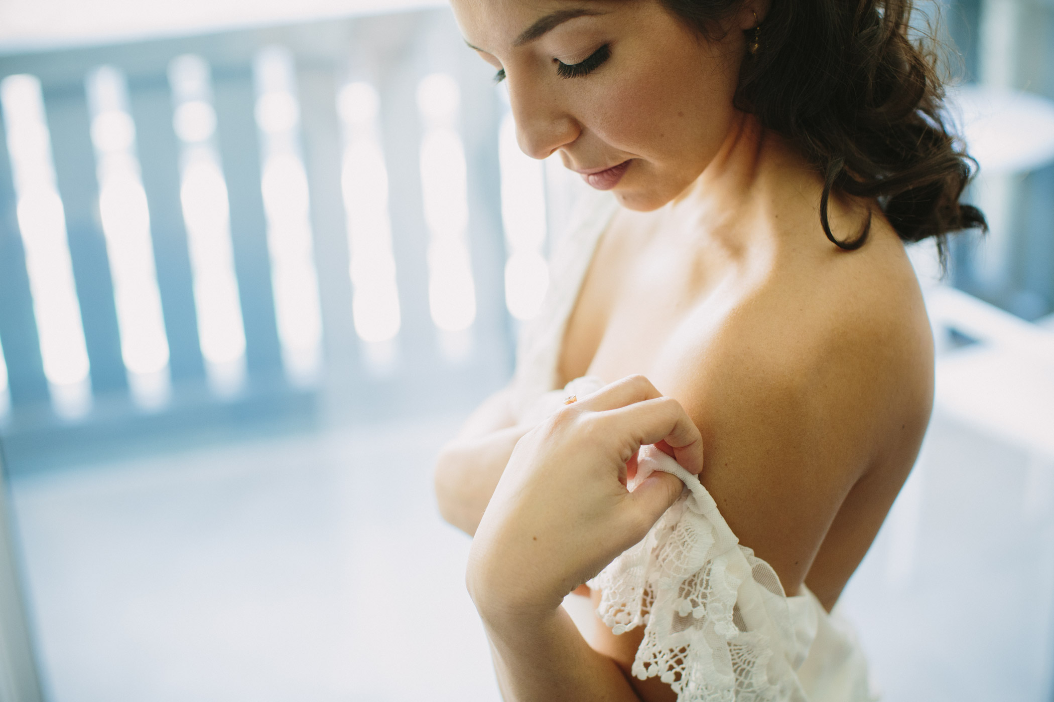 Whistler Bride gets ready