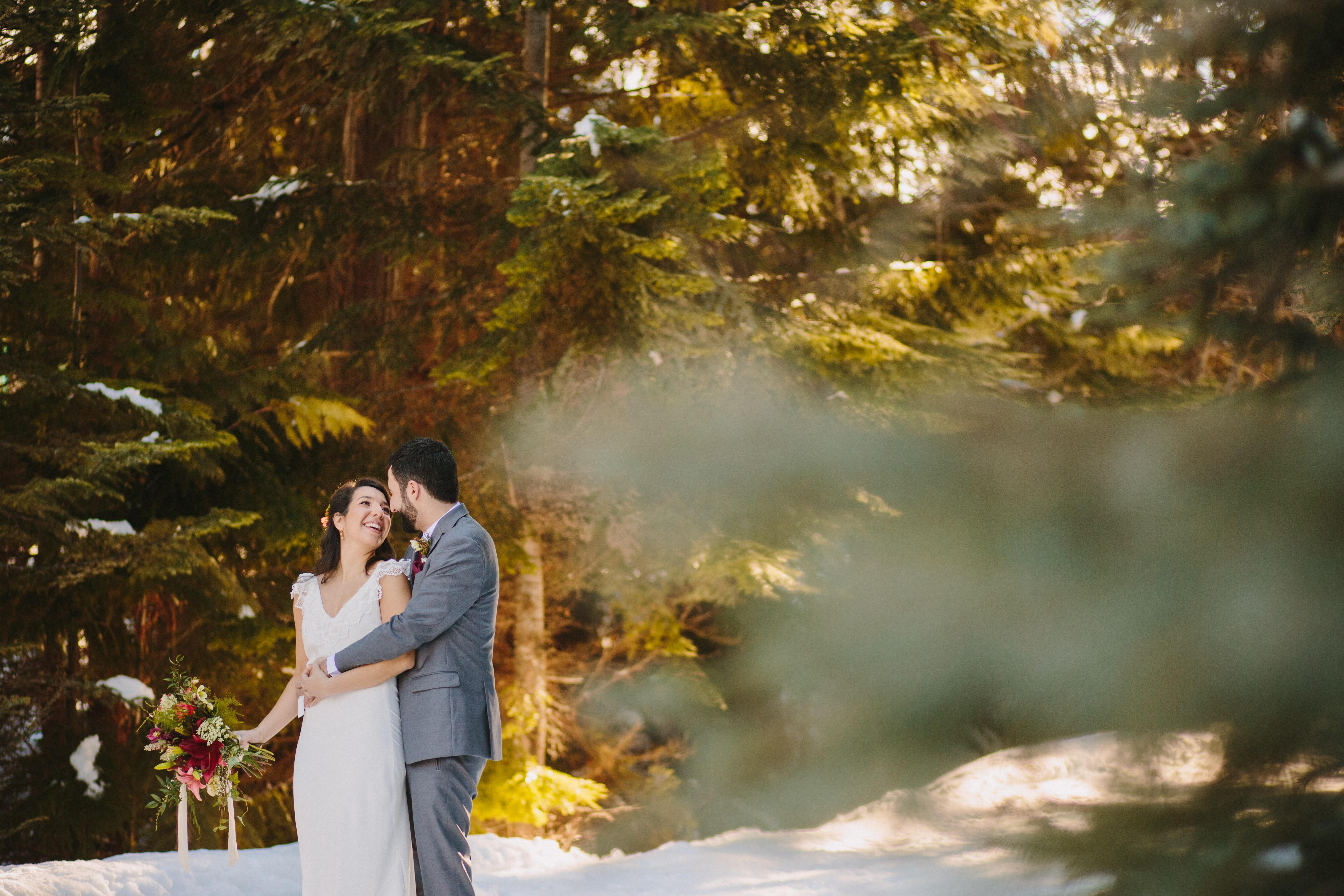 Winter Wedding in Whistler
