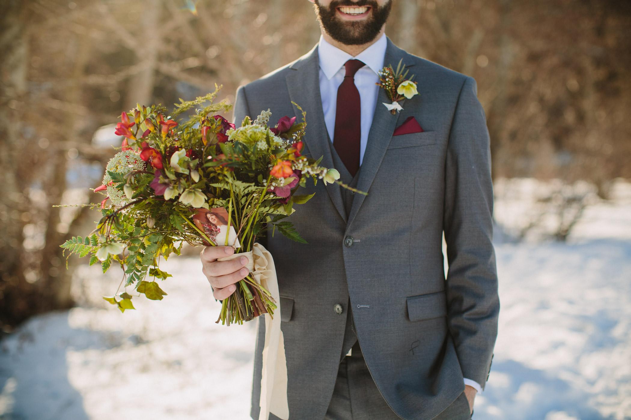 Custom Bouquet for Whistler Bride