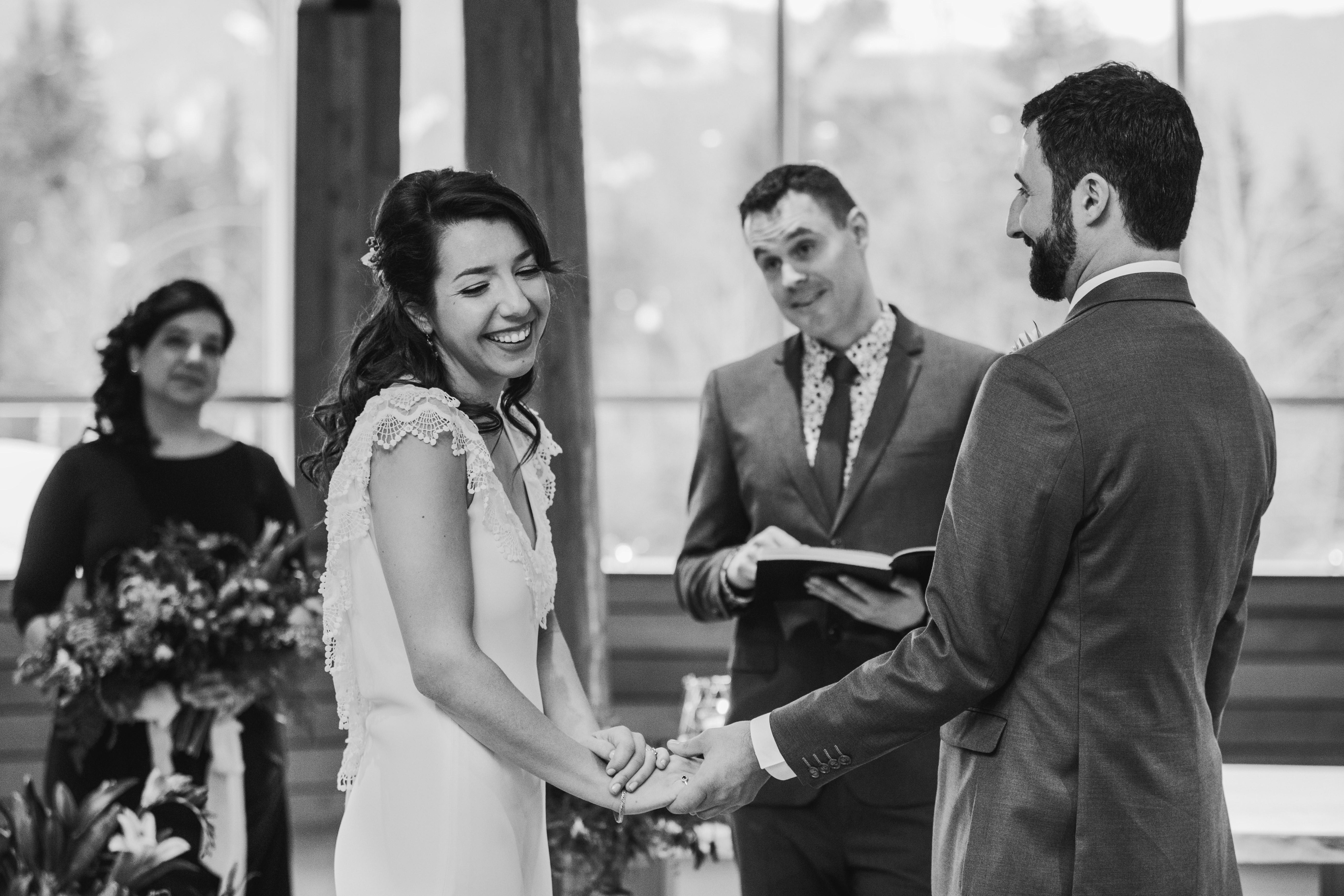 Wedding at Squamish Lil'Wat Cultural Centre
