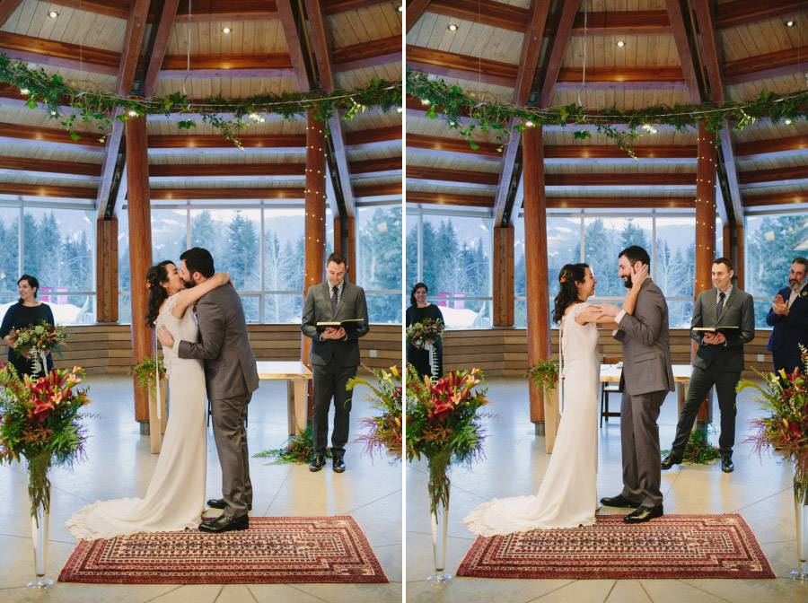 Wedding Ceremony in Whistler