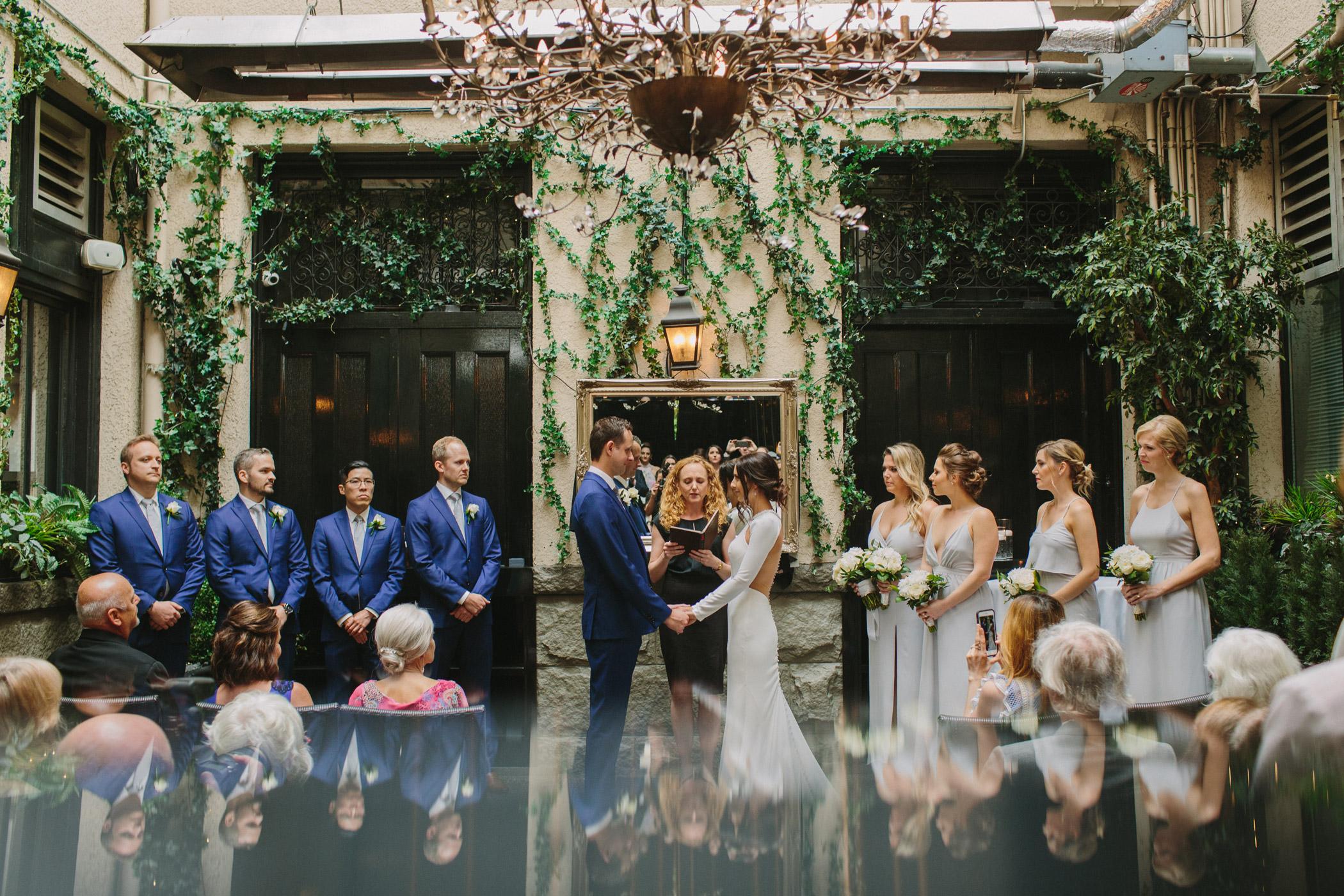 Brix and Mortar Wedding Ceremony