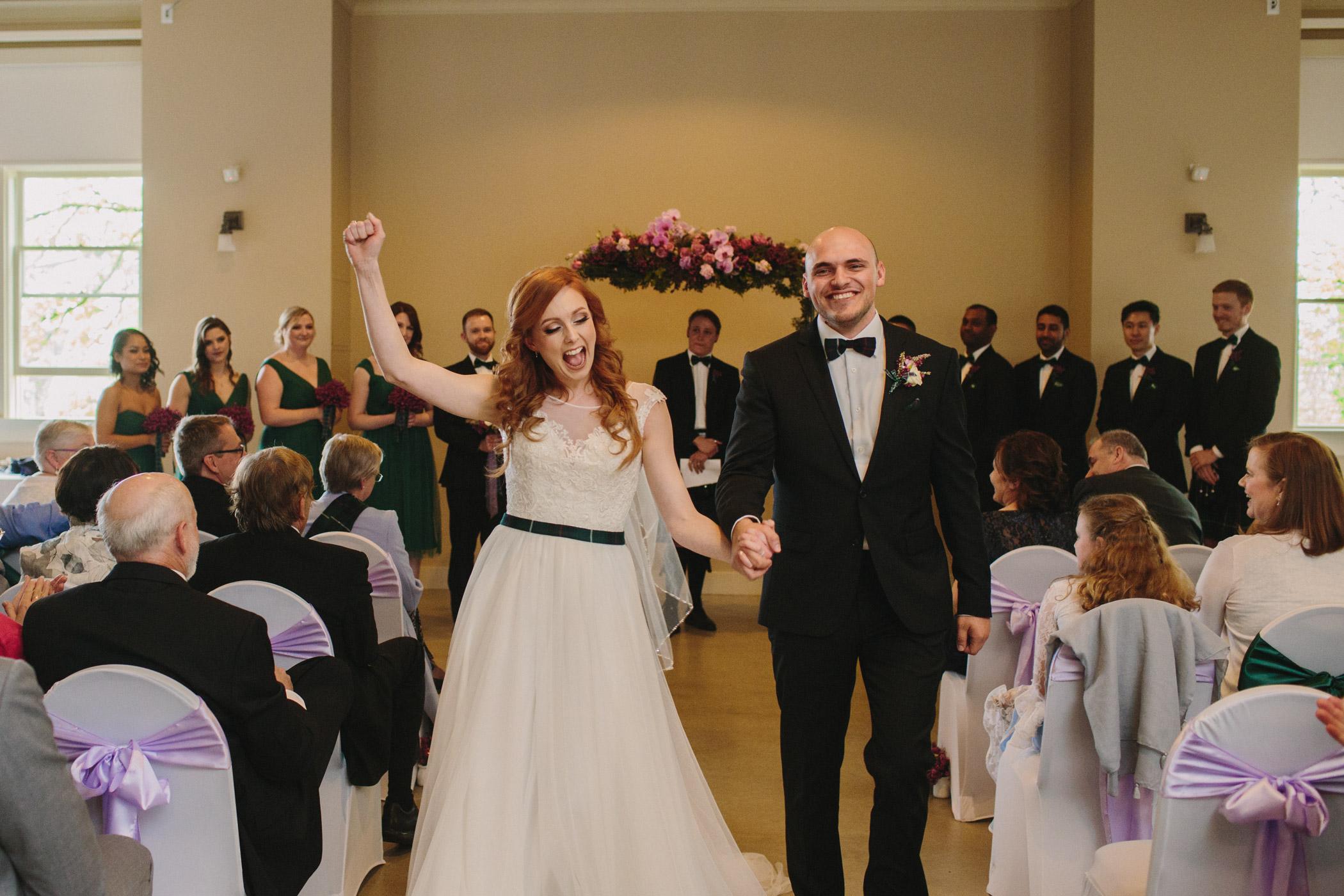 Wedding Ceremony at Alana Emmott Centre