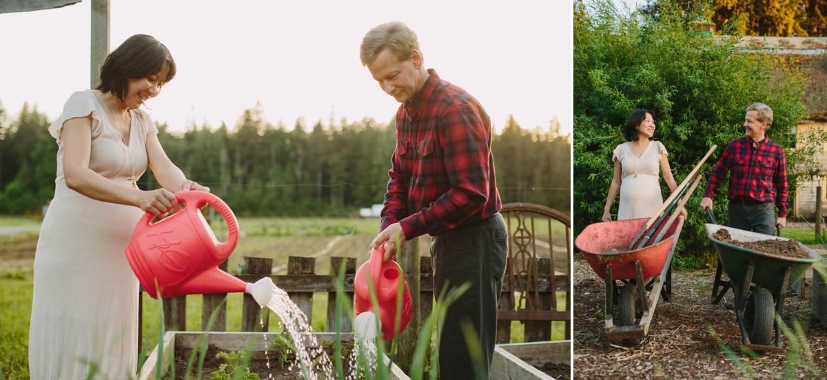 Farm Maternity Portraits
