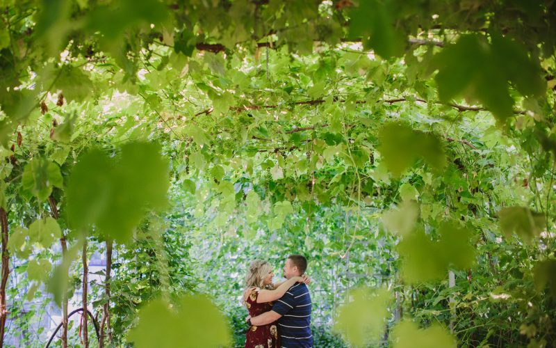 Glasshouse Estate Winery Engagement Session