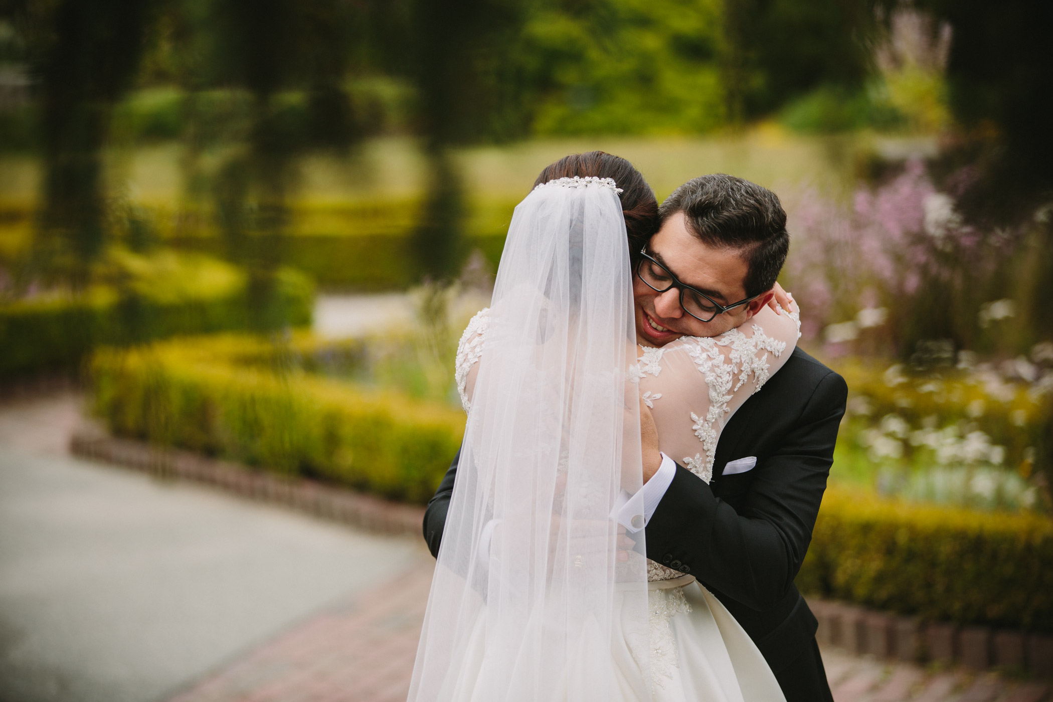 First Look Persian Wedding