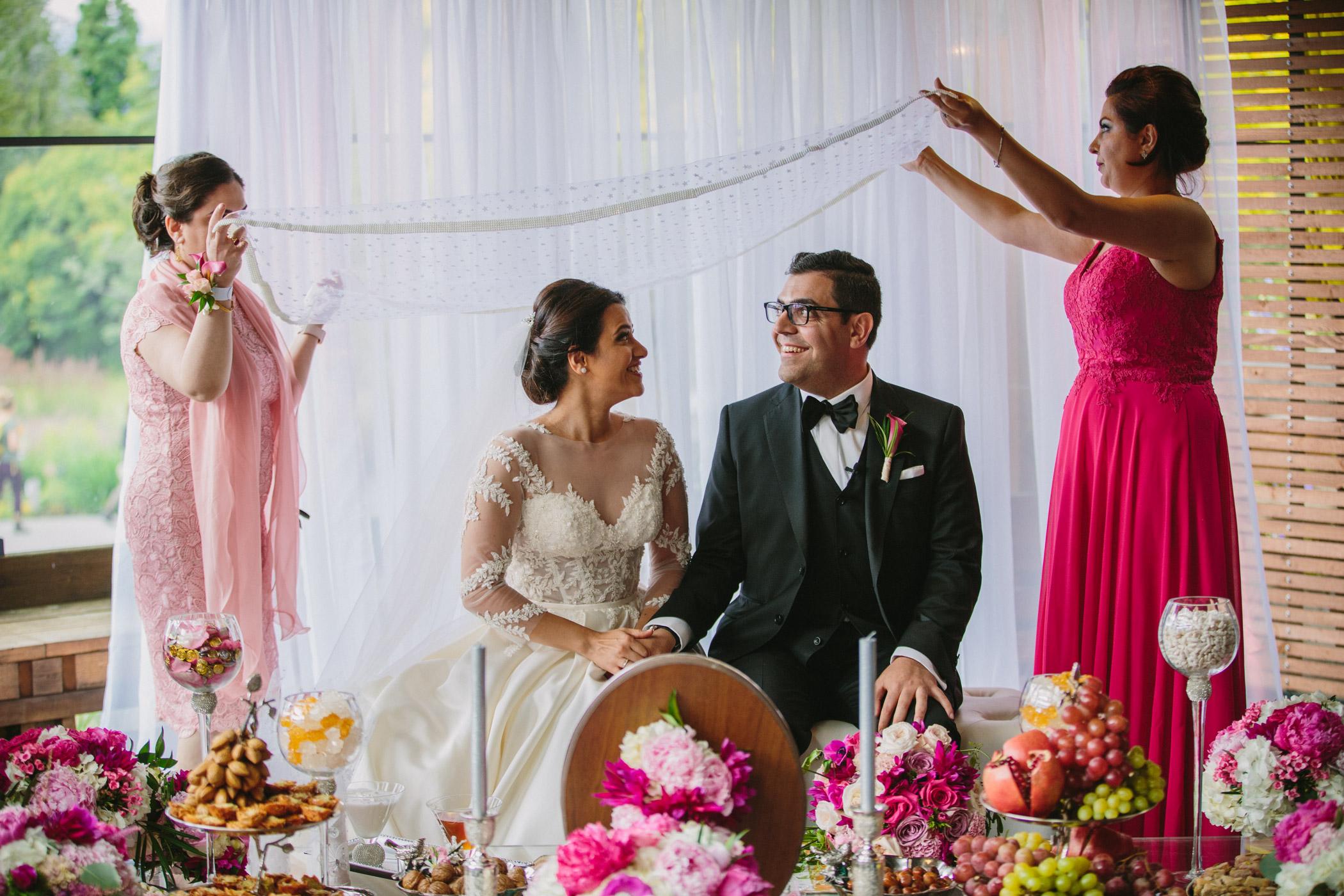 Persian Wedding at Shaughnessy Restaurant