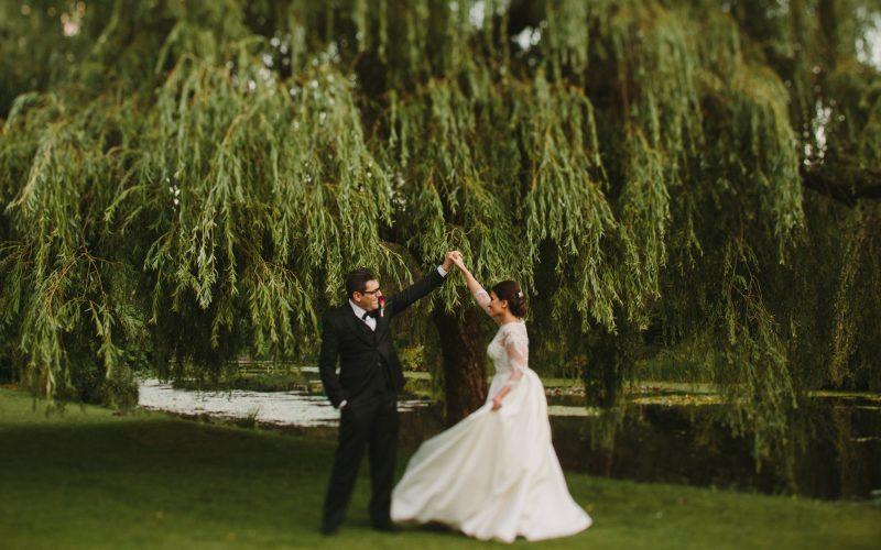 Van Dusen Garden Wedding Portraits