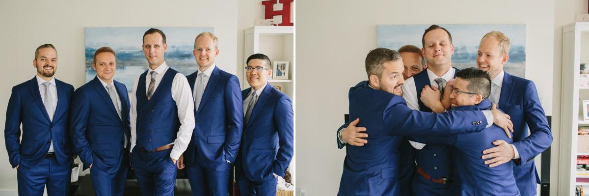Vancouver groom and groomsmen