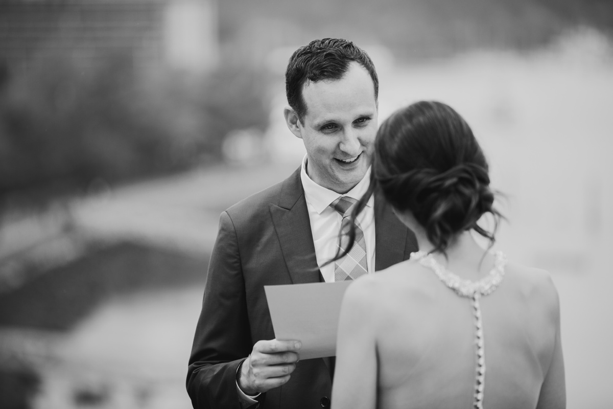 Private vows in Coal Harbour