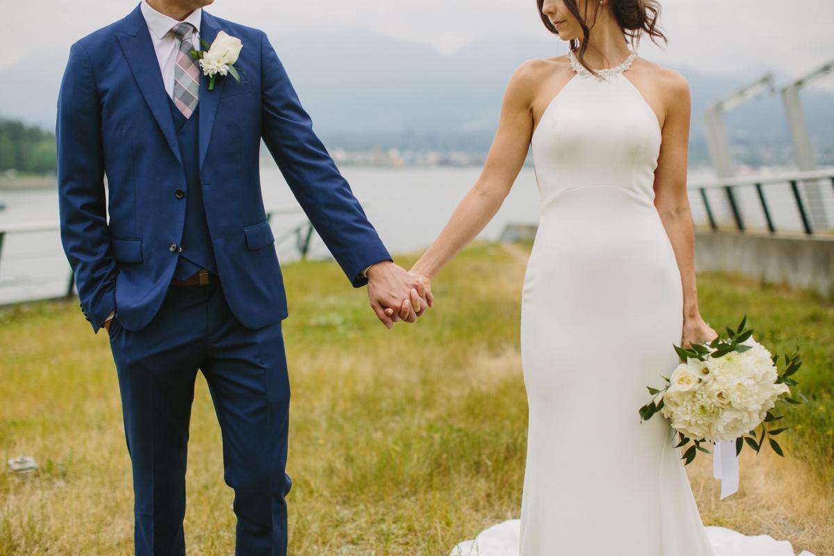 Wedding details at Vancouver Convention Centre