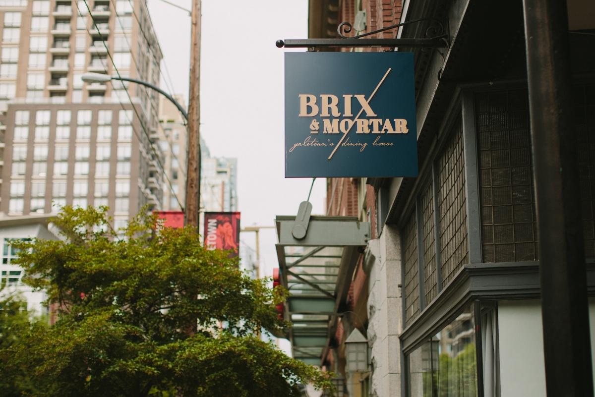 Brix & Mortar exterior shots