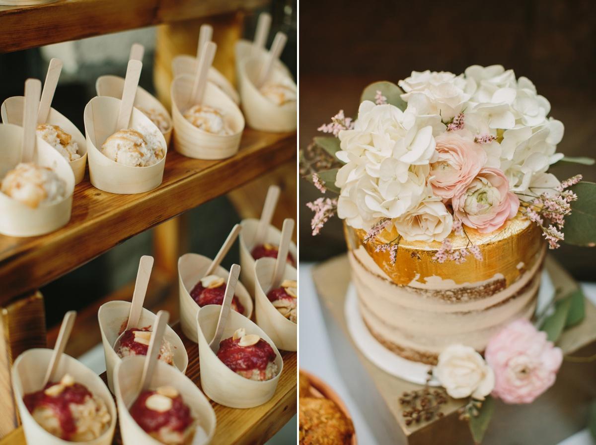 Cakes by Peddie details at Brix & Mortar
