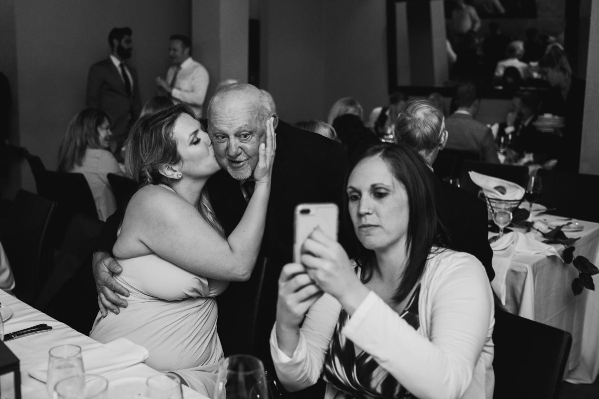 Brix and Mortar wedding reception candids