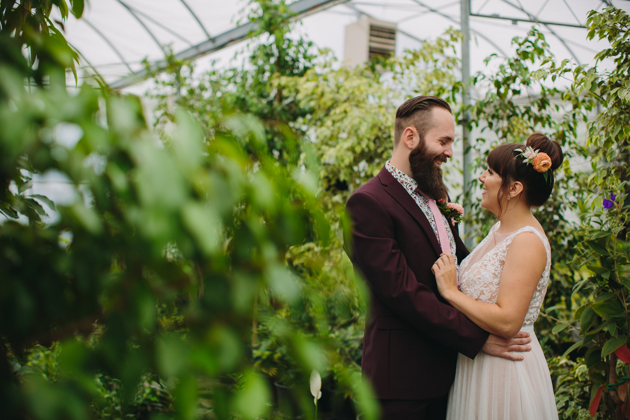 Wedding Portraits at Woodbridge Ponds