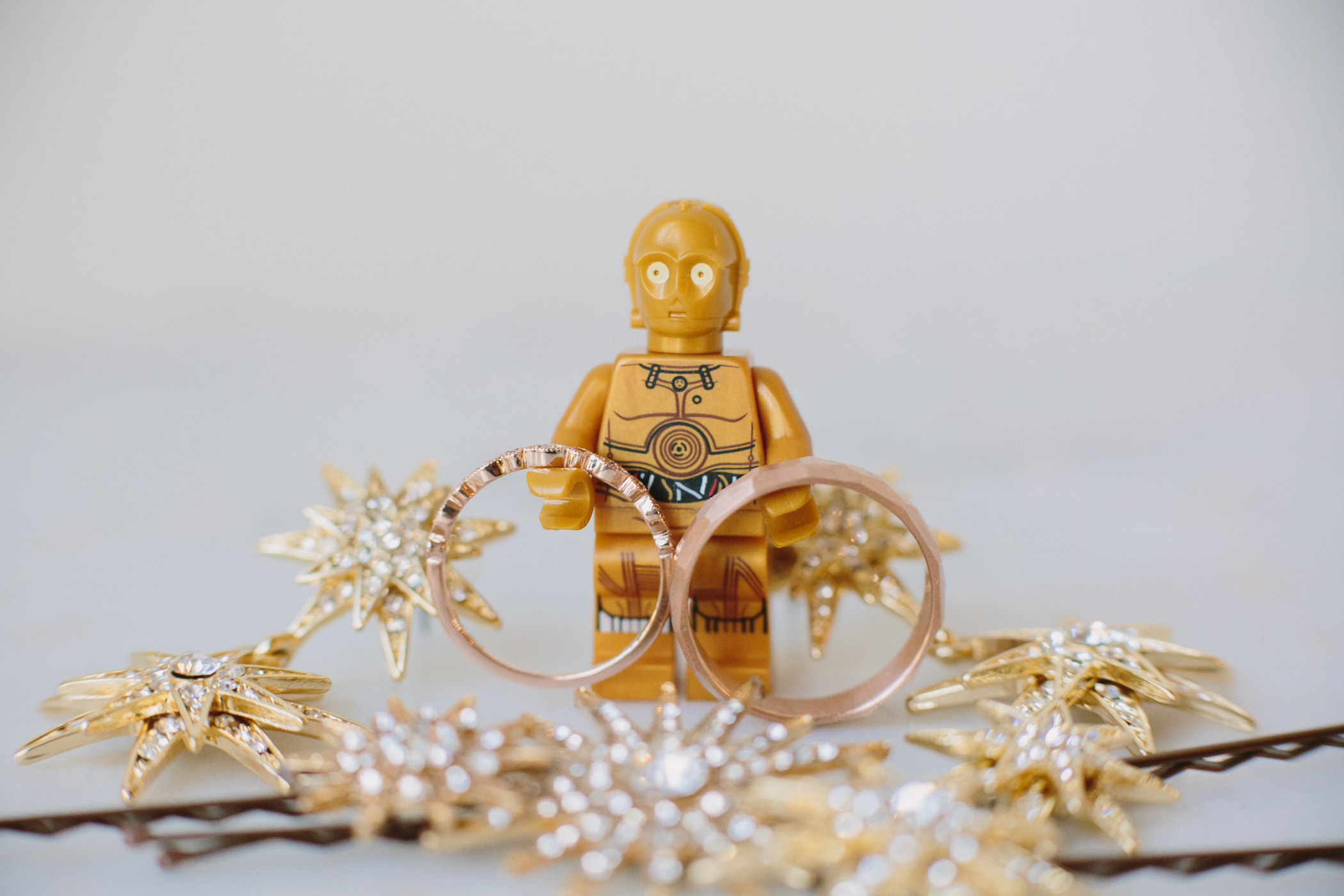 Lego C3PO Ring Photo