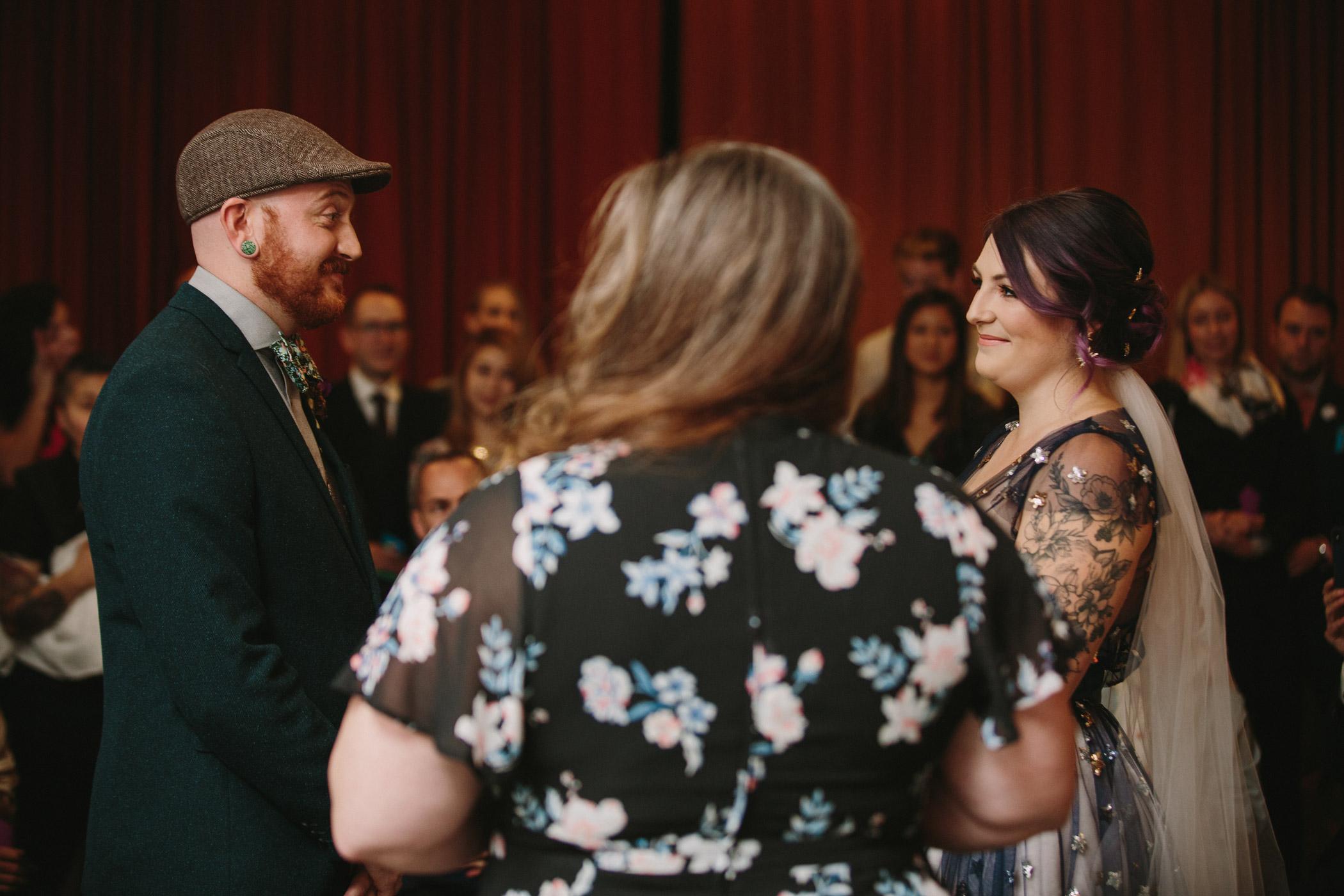 Wedding Ceremony at Beaumont Studios