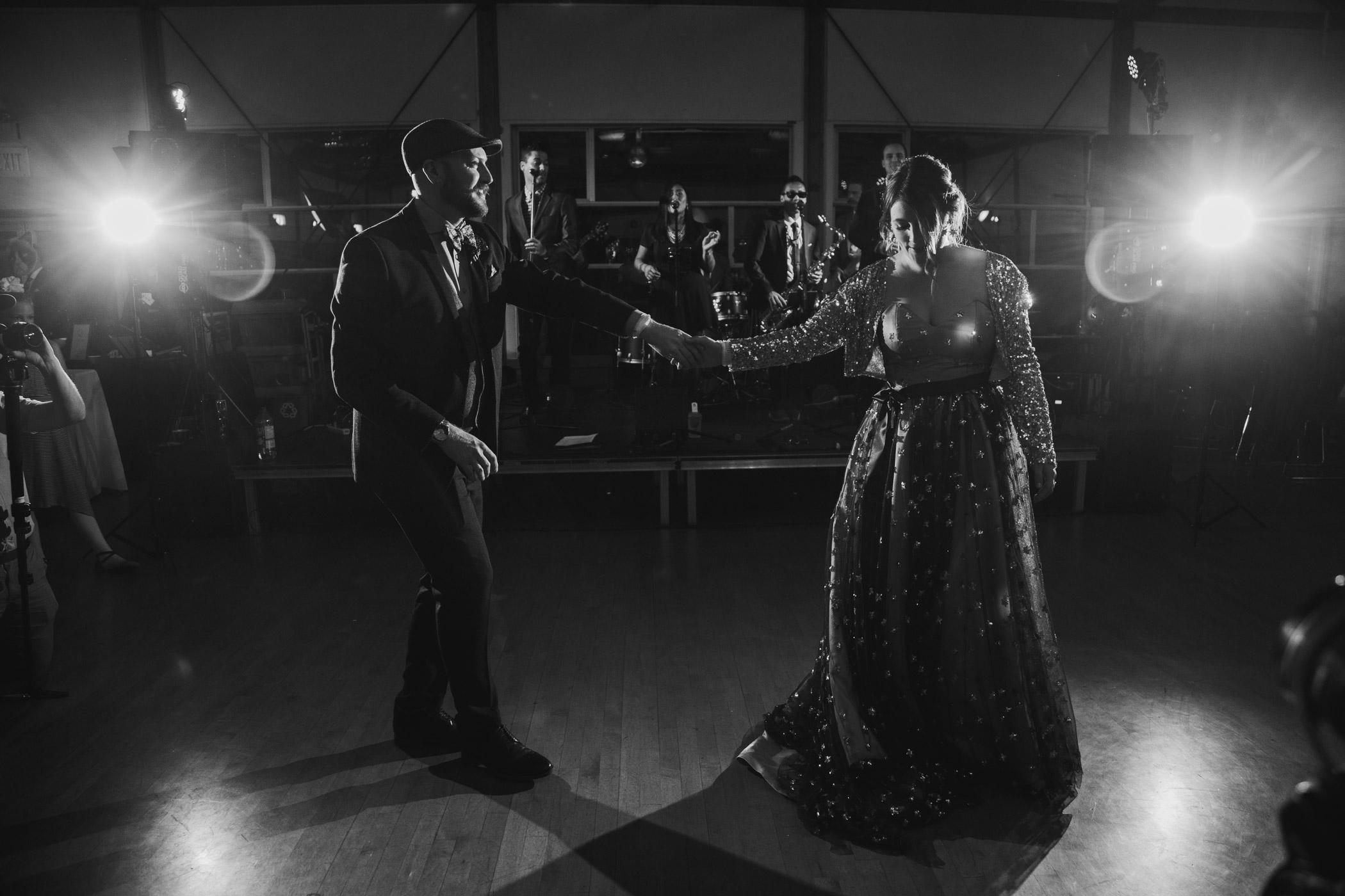 First Dance at False Creek Community Centre Reception