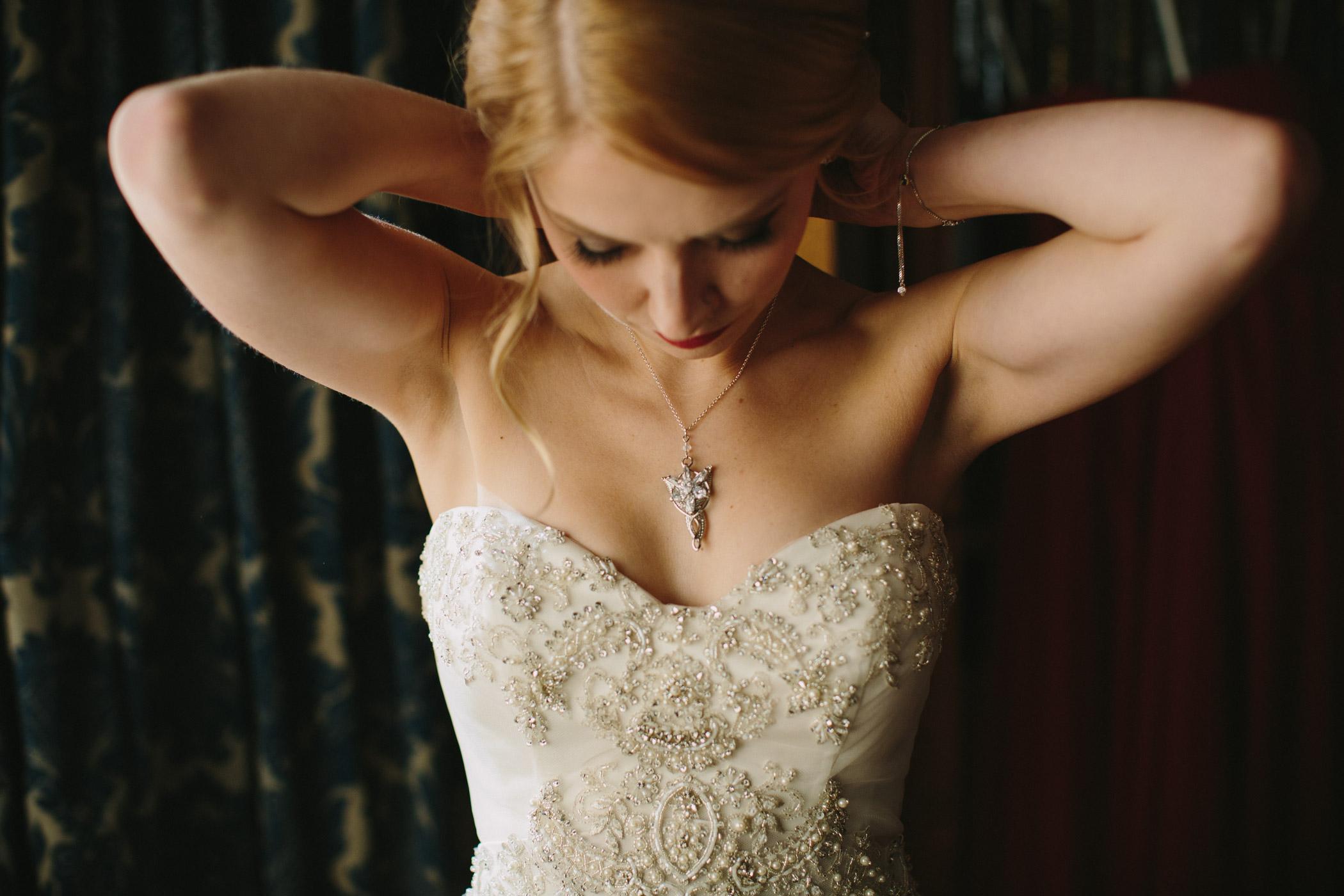 Bridal prep Cecil Green