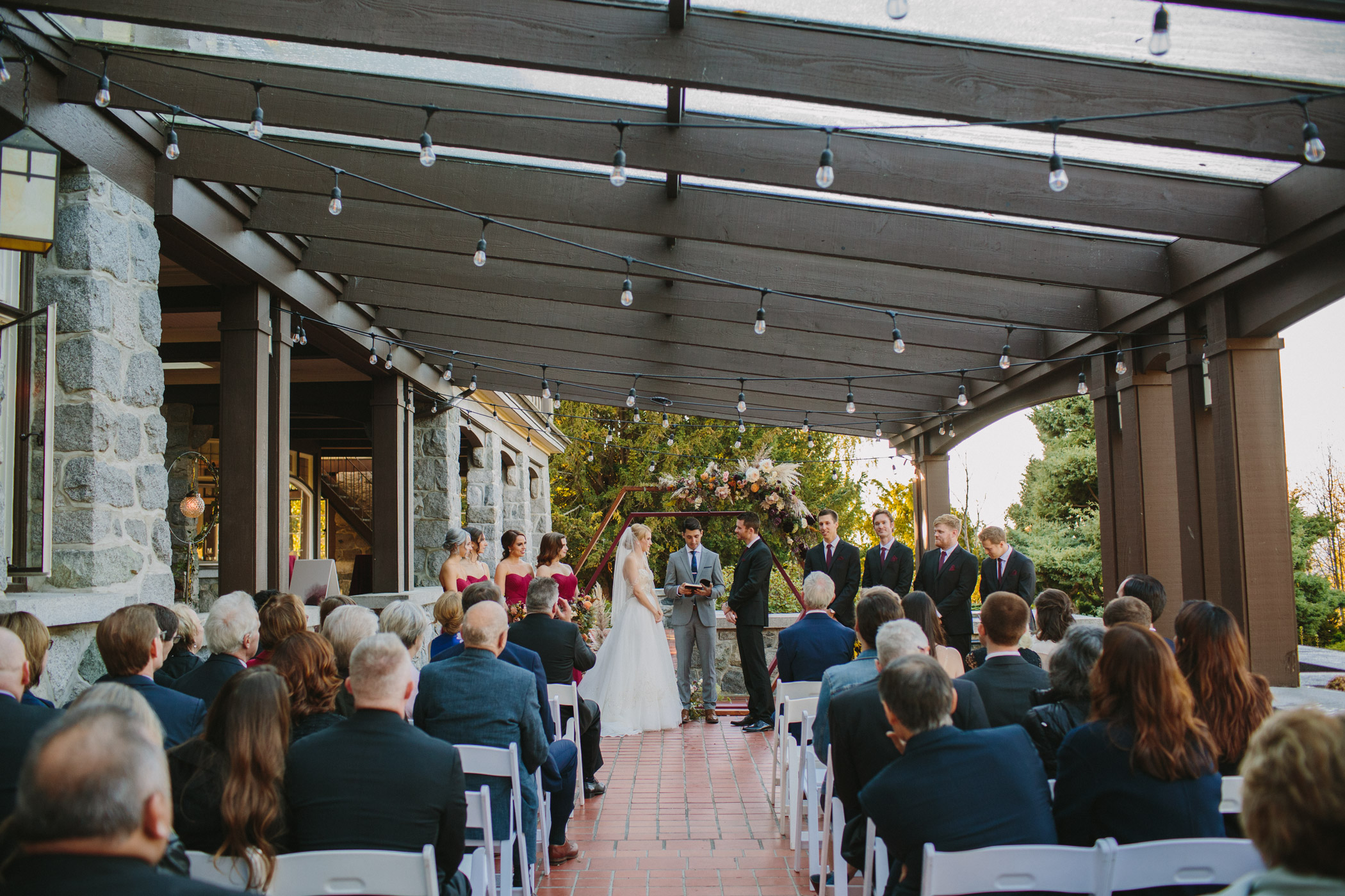 Cecil Green Park House Wedding Ceremony