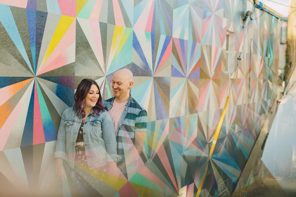 Vancouver Creative Portrait Engagement
