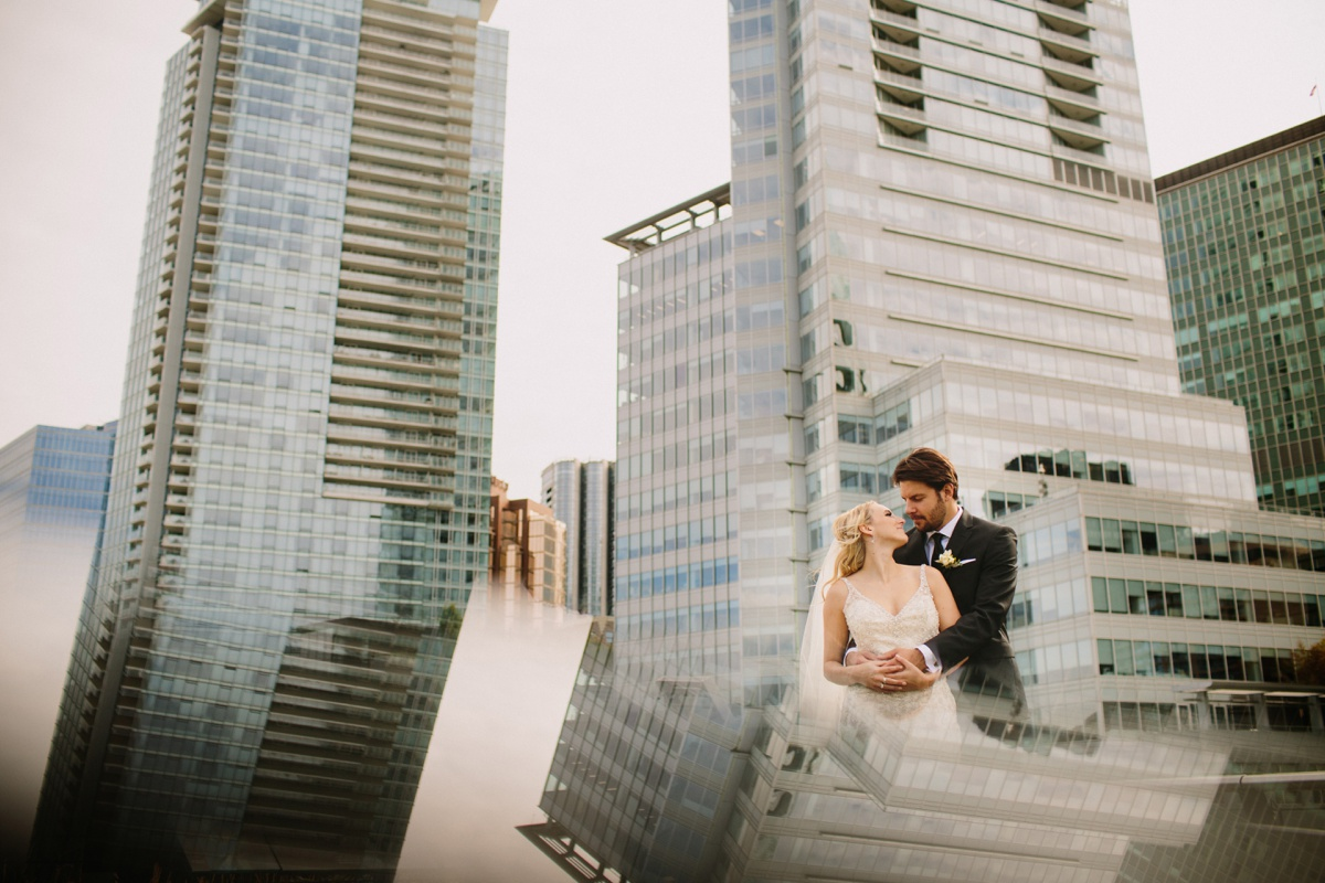 Creative Vancouver Wedding Photo