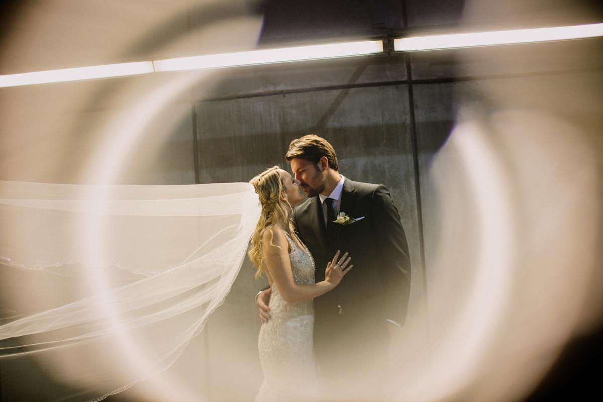Dramatic Vancouver Wedding Portrait