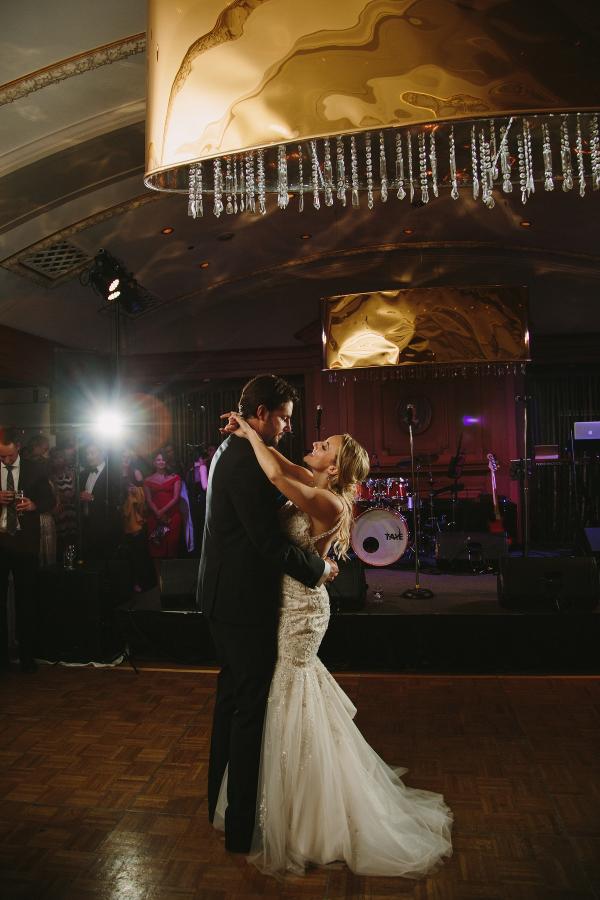 First Dance at the Vancouver Club