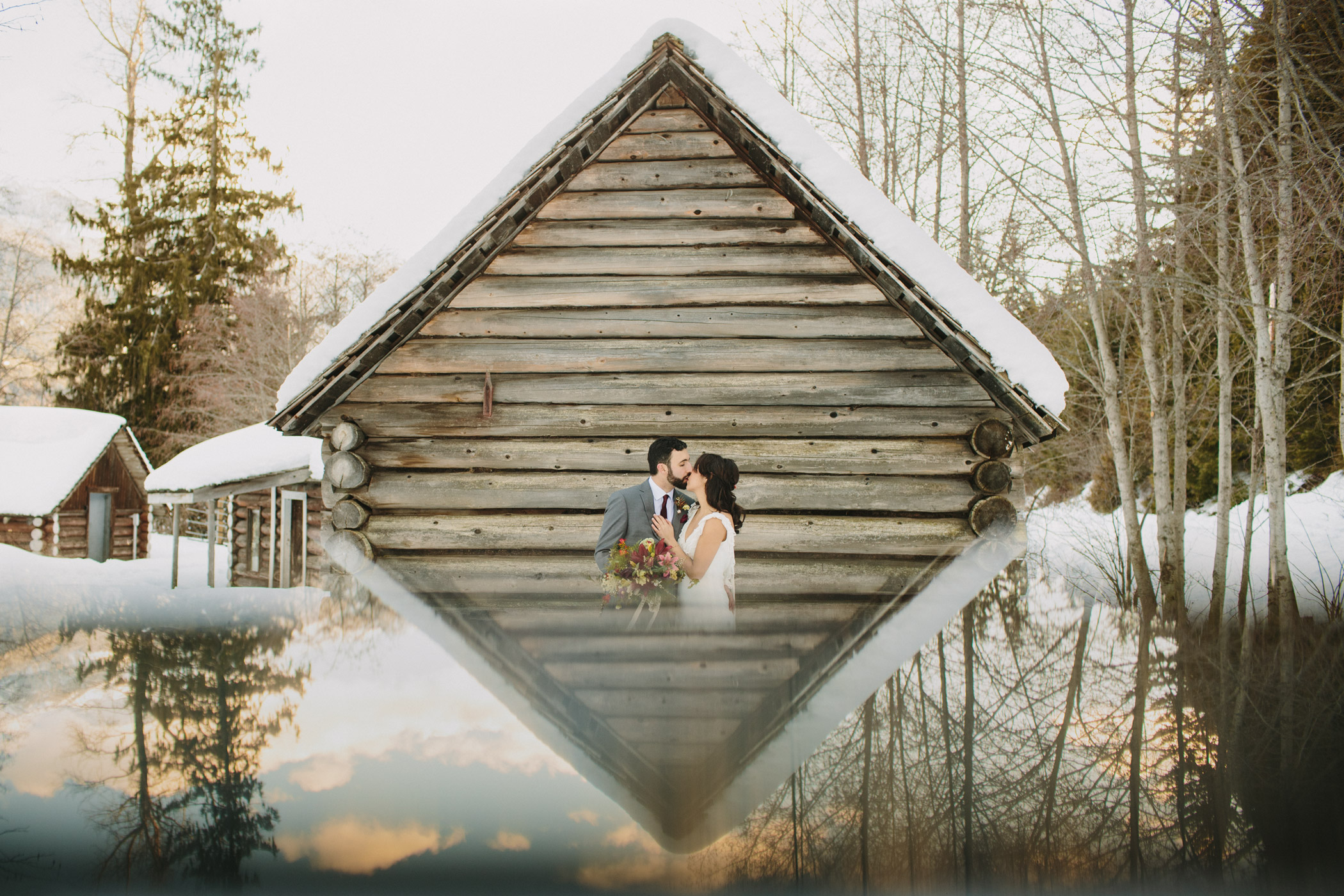 Whistler Wedding Portrait