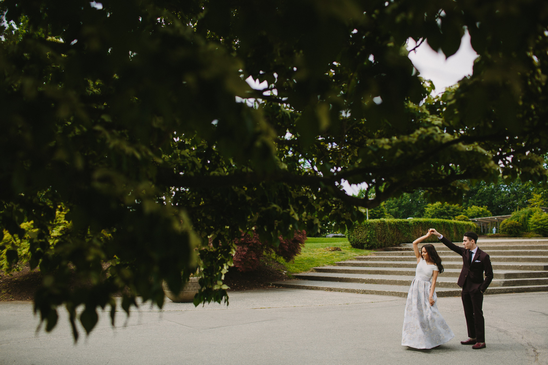 Queen Elizabeth Park Wedding