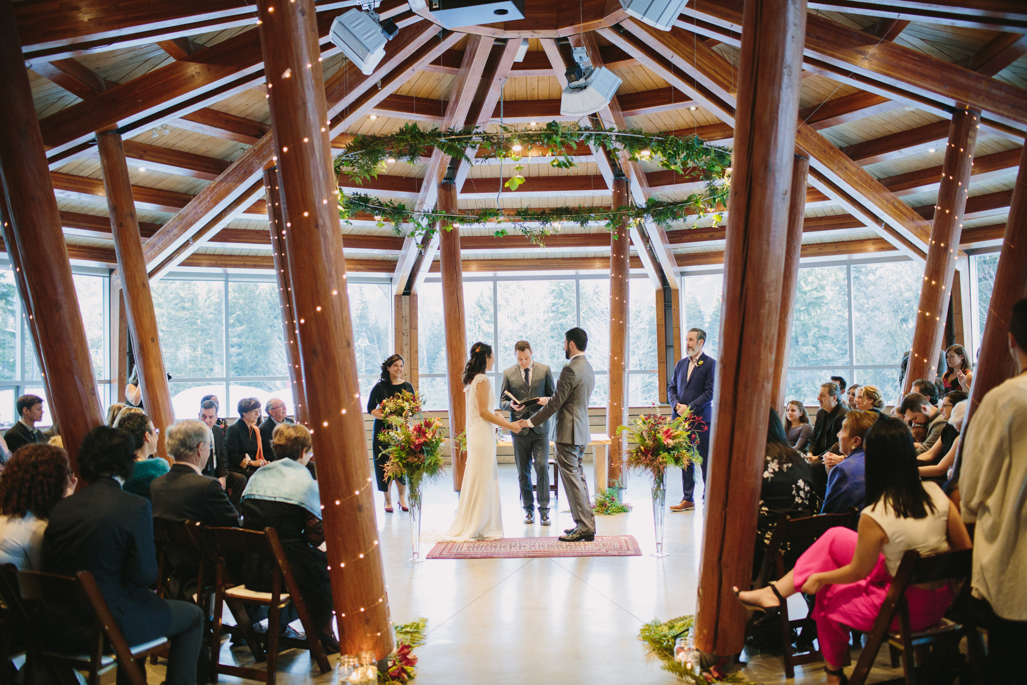 Squamish Lil'Wat Cultural Centre Wedding