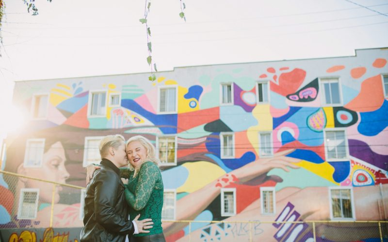Olympic Village Couples Session | Vancouver LGBTQ Wedding Photographer
