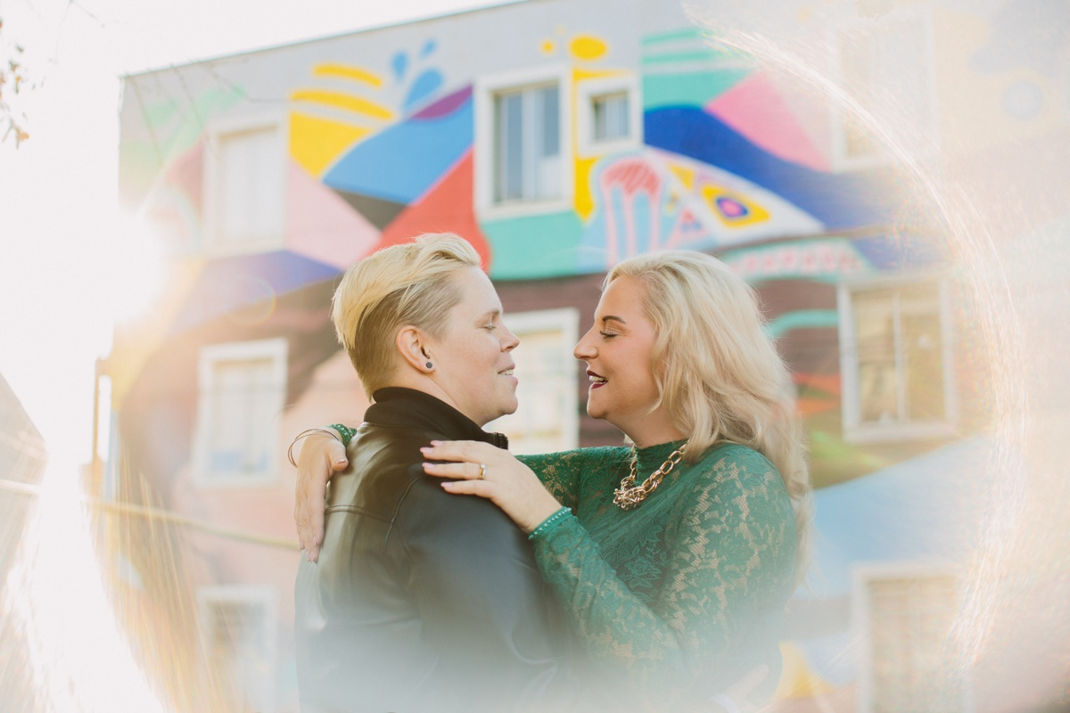 Vancouver LGBTQ Engagement Photo