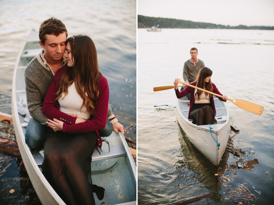 Mayne Island Engagement Session