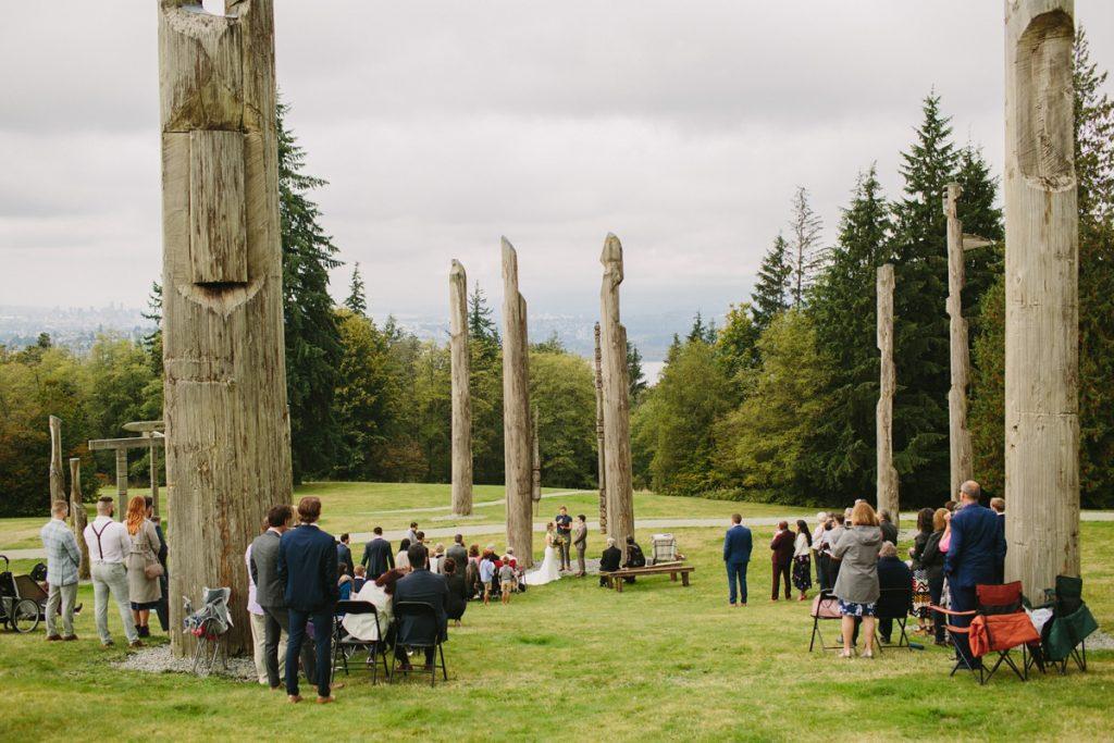 Burnaby Mountain Wedding