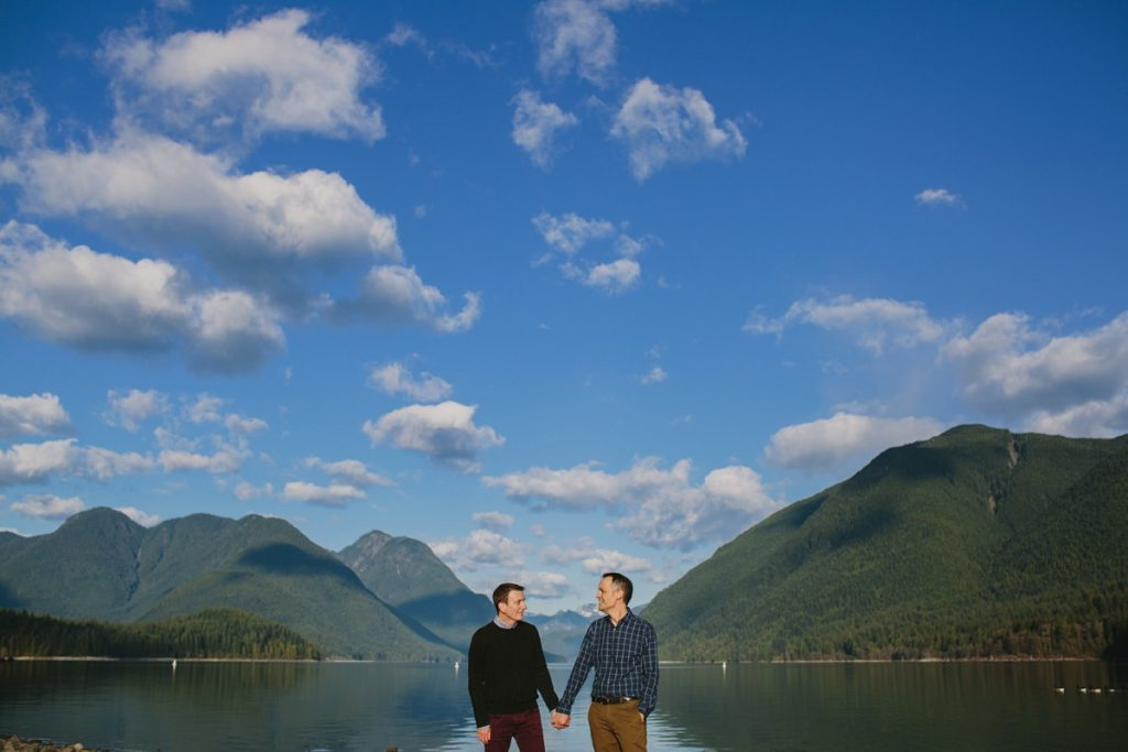 Engagement Session at Alouette Lake